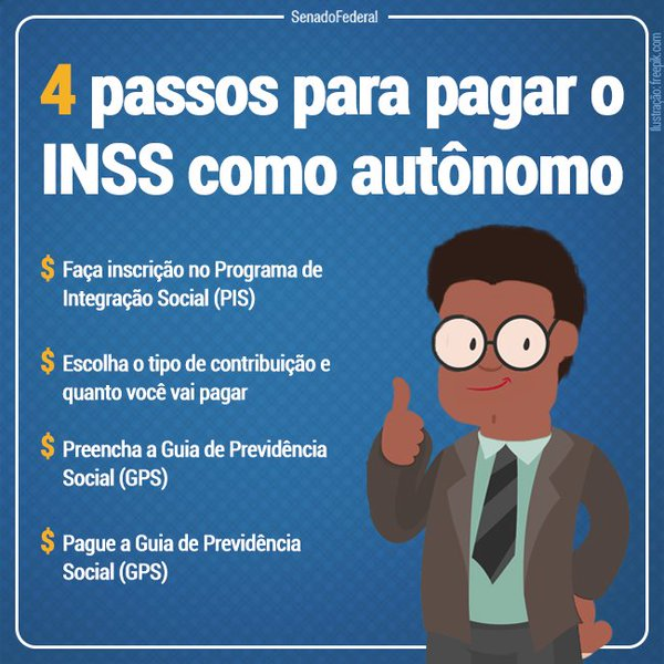 Como pagar INSS 2019