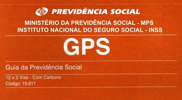 GPS INSS - Guia de recolhimento de Empregada Doméstica